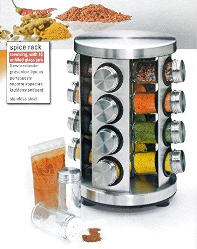 Küchenprofi kruidenrek, rond, roestvrij staal en glas voor zomer 2014