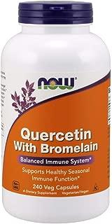NOW Supplements, Quercetin with Bromelain, 240 Veg Capsules