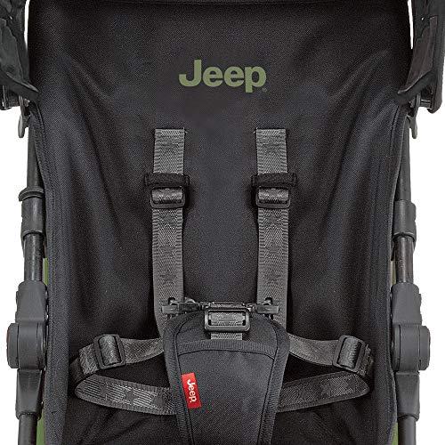 【Amazon.co.jp限定】JeepJisforJeepスポーツリミテッドベビーカーオリーブグリーン7か月~