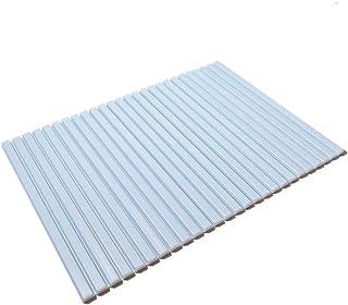 東プレ シャッター式風呂ふた ブルー 70×88cm M9