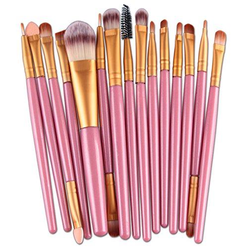Pinceaux de maquillage Pinceau de maquillage Cosmétique Fond de teint poudre Ombre à paupières Eyeliner Estompeur