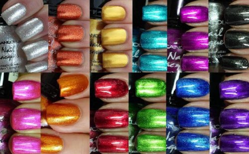Beauty Shopping Kleancolor Nail Polish – Awesome Metallic Full Size Lacquer Lot of 12-pc Set