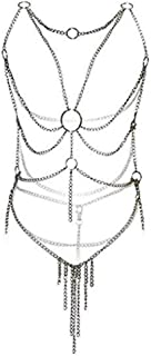 Women's Sexy Metal Chain Lingerie Nightclub Cosplay Show Dress Party Costume Gift For Girlfriend