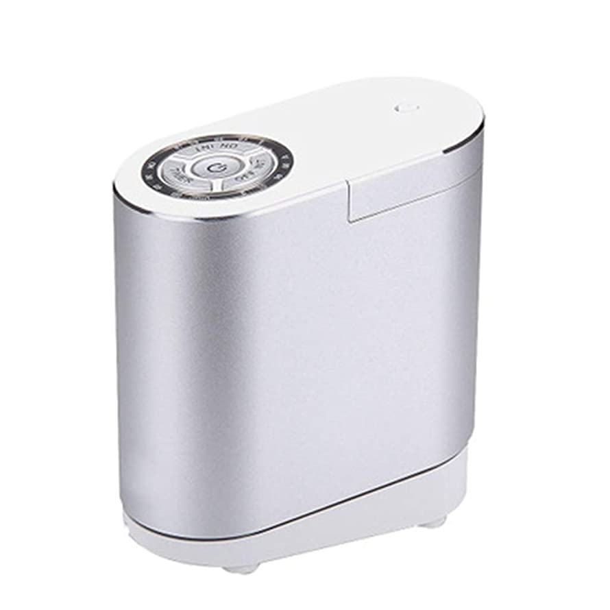 思い出す一致する交渉するクールミスト空気加湿器、30ミリリットルディフューザーエアコン、4Sショップのリビングルームの研究寝室のオフィスに適して (Color : Silver)