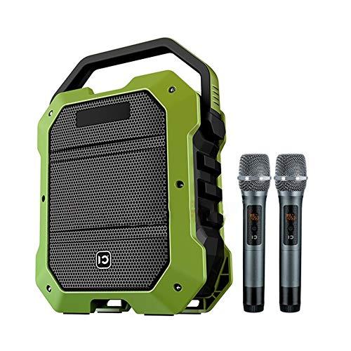 Karaoke Machine Apparatuur Bluetooth Speakers met Handheld Microfoon Draagbaar PA Systeem K10