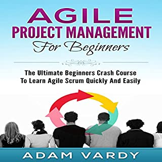 Agile Project Management for Beginners cover art