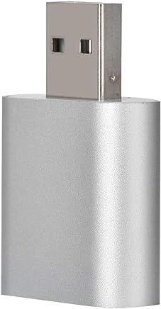 Zerone 3D Scheda Audio Adattatore Audio USB 2.0Scheda Audio Esterna 7.1canali Surround con Jack 3.5mm per Altoparlanti/Cuffie e Microfono per Windows/Mac - Trova i prezzi più bassi