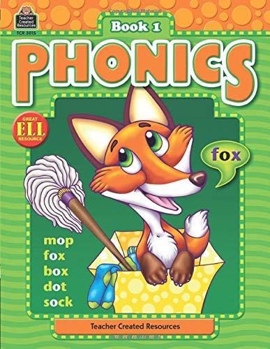 Phonics: Book 1, Grades K–3 from Teacher Created Resources (Phonics (Teacher Created Resources))