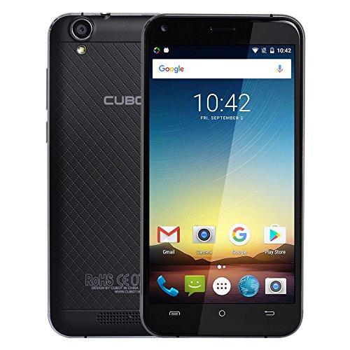 Cubot Manito 4G Smartphone 5.0Zoll IPS 720p * 1280px HD-Bildschirm 1.3GHz Quad-Core 3GB RAM+16GB ROM Android 6.0 OS 13.0MP + 5.0MP Dual-Kamera 2350mAh Dual-SIM-Karte GPS