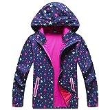 MGEOY Cycling Rain Jacket for Girl Abrigos para Niñas Chaquetas para Niñas Kids Raincoat Boots Set10-12Y