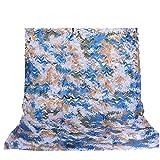 QI-CHE-YI Filet de Camouflage, Woodland Camouflage Net, Vert Camouflage Net, décoratif extérieur Crème Solaire,4x10m