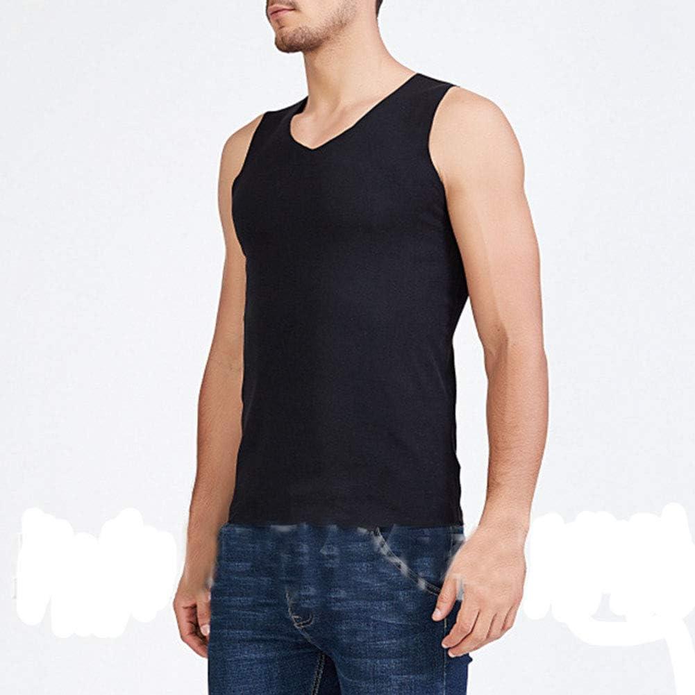 Mens Warm Vest Seamless Thickened Underwear Sleeveless Waistcoat Thermal Tank Top Plus Size