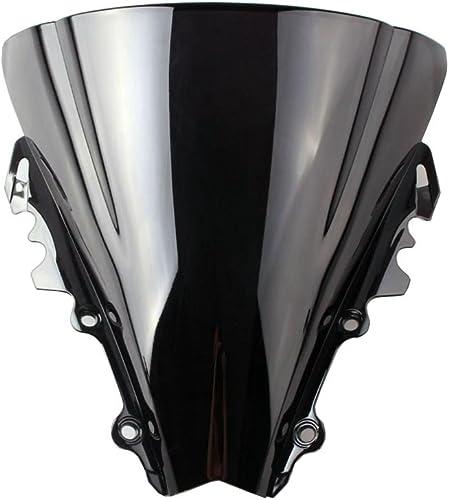 popular Mallofusa Double Bubble ABS Windshield wholesale Windscreen for Yamaha online YZF R6 2006 2007 Black online sale