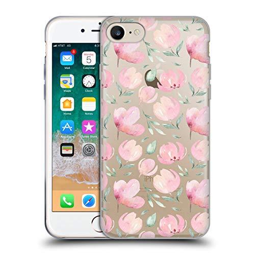 Head Case Designs Ufficiale Kristina Kvilis Tulipani La Primavera è Nell'Aria Cover in Morbido Gel Compatibile con Apple iPhone 7 / iPhone 8 / iPhone SE 2020