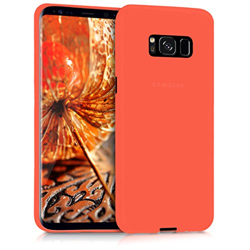 kwmobile Hülle kompatibel mit Samsung Galaxy S8 - Handyhülle - Handy Hülle in Neon Orange