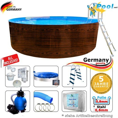 Germany-Pools -  Holzpool 4,00 x 1,20
