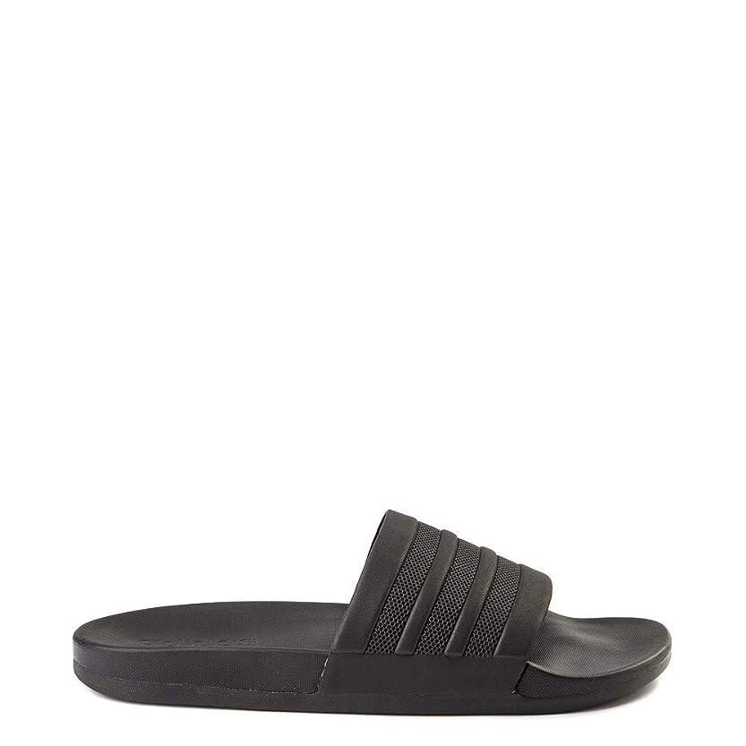 敏感な授業料[adidas(アディダス)] レディース靴?サンダル Adilette Comfort Slide Sandal アディレットコンフォート Black [並行輸入品]