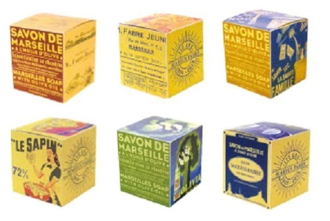 シャイネブ電気的サボンドマルセイユ BOX オリーブ 200g (箱の柄のご指定はできません)
