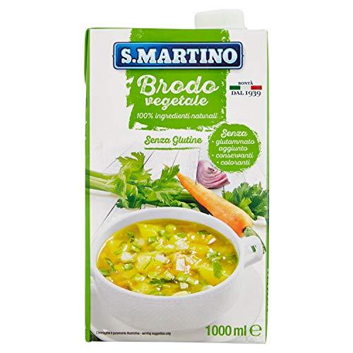 S.MARTINO- Brodo Pronto Vegetale 1 Litro - 1000 Gr
