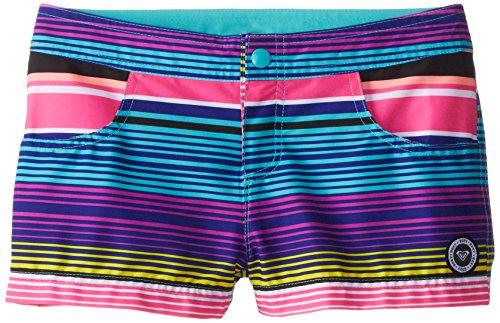 Roxy Mädchen Badeshorts Gr. 14 Jahre (Herstellergröße : 14 Years) Mehrfarbig - Multicoloured (Tropical Pink)