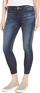 KUT from the Kloth Diana Curvy Cropped Skinny Jeans - Blue - 4