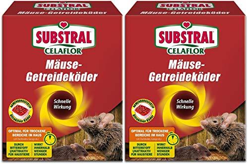 Substhral 2 X 100 g Mäuse Getreideköder