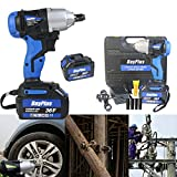 <span class='highlight'><span class='highlight'>ZanGe</span></span> Cordless 460Nm Impact Wrench 2 Speed,Forward Reverse Setting  6000mHA Battery  Carry Case  Alloy Wheel 1/2