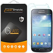 (2 Pack) Supershieldz for Samsung (Galaxy S4 Mini) Tempered Glass Screen Protector, Anti Scratch, Bubble Free