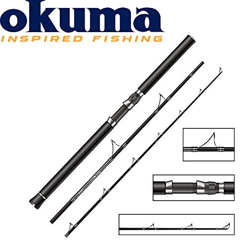 Okuma Cortez Pilkrute 198cm 20-30lbs - Bootsrute, Pilkrute für Dorsch & Heilbutt, Bootsruten zum Meeresangeln Pilkruten Meeresrute