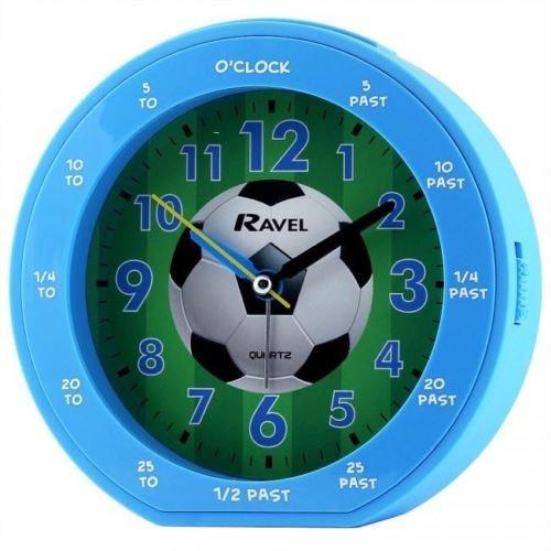 Blauer Fußball-Wecker