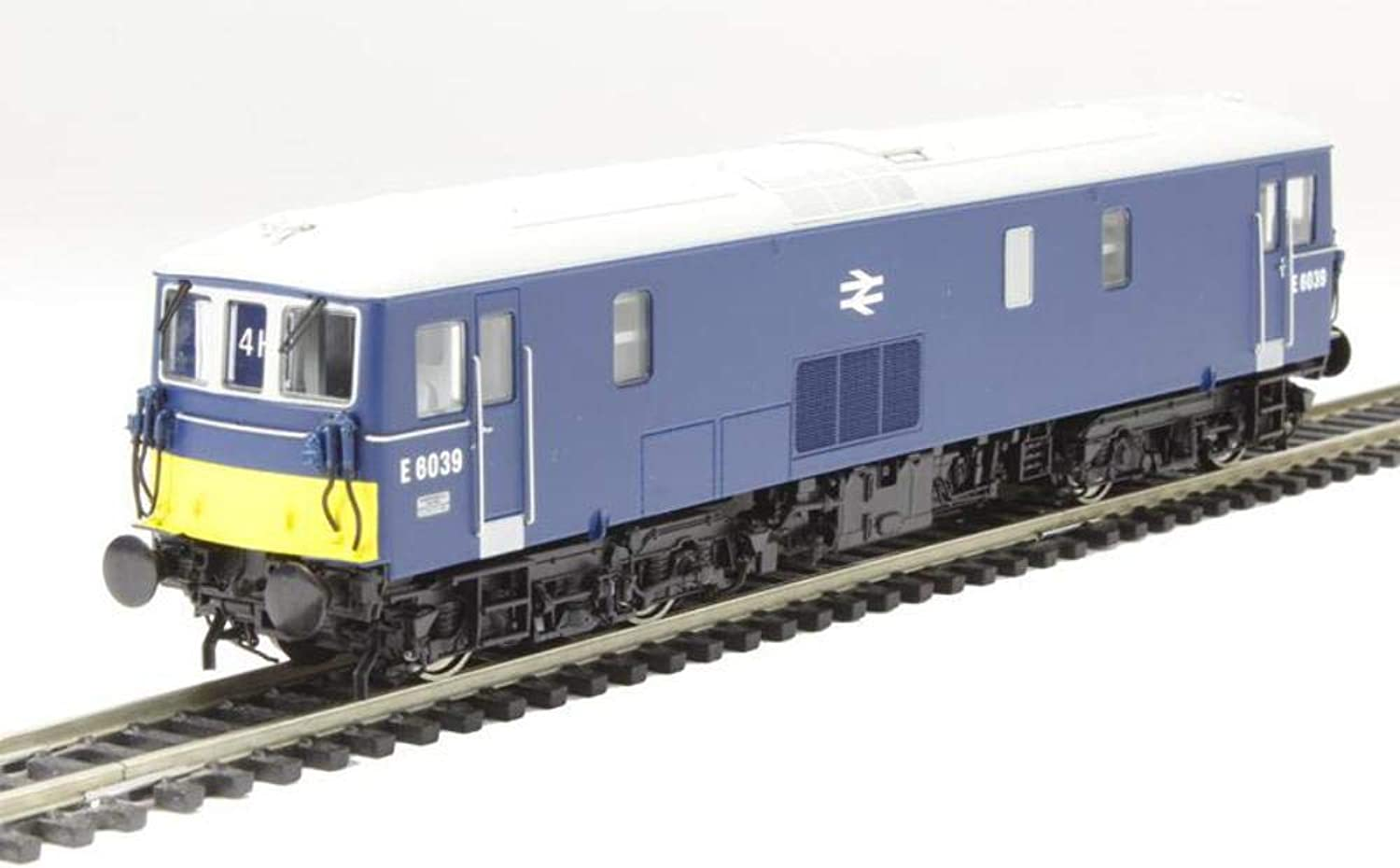 4D-006-005 Dapol OO - Class 73 1 electro-diesel E6039 in early bluee with with small yellow panels and double arrow logo