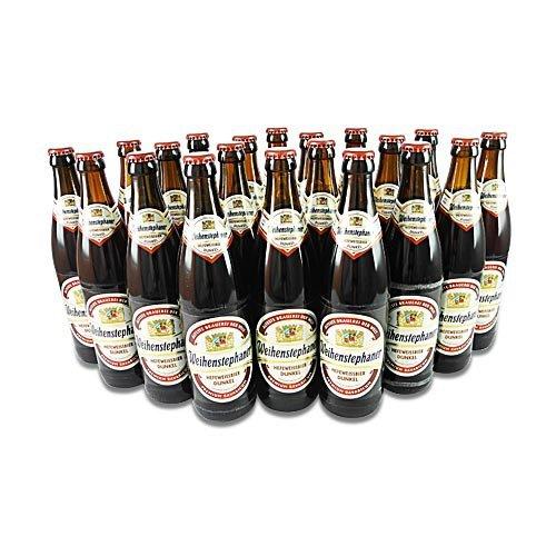 Weihenstephaner Hefeweissbier Dunkel (20 Flaschen à 0,5 l / 5,3% vol.)