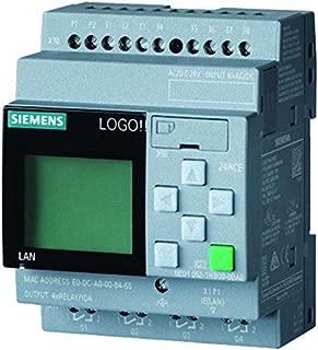 Siemens stlogo - Módulo logico 24rce display pu/i/o 24v corriente alterna/corriente continua