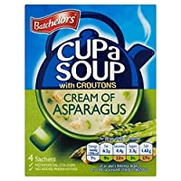 Batchelorsカップアスパラガス117グラムのスープクリーム (x 2) - Batchelors Cup A Soup Cream of Asparagus 117g (Pack of 2) [並行輸入品]