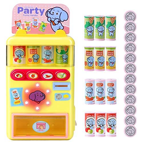 welltop Juguetes para máquinas expendedoras, Party Arcade Machine Education Juguetes de Aprendizaje con función de Voz Efecto de iluminación Cumpleaños para niños de 3 años en adelante