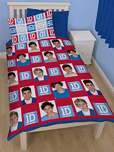One Direction Craze Single Rotary Duvet Set