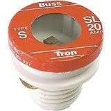 Bussman BP/SL-20 20 Amp Tamper Proof Plug Fuses 3 Count...