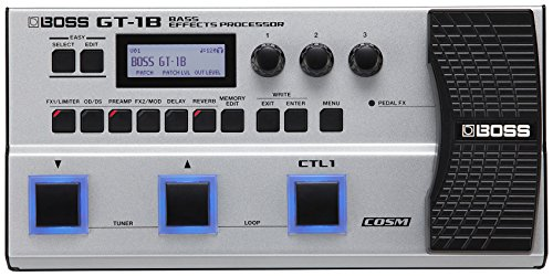Boss GT-1B Bass Effects Processor with 1 Year EverythingMusic Extended Warranty Free