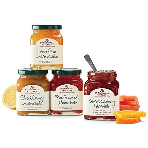 Stonewall Kitchen 4 Piece Marmalade Collection