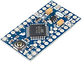 SparkFun Arduino Pro Mini ATmega328-5V/16MHz Development Board Includes 8 Analog pins and 14 Digital GPIO pins Over Current Protected Regulated DC Input 5v up to 12v Small Footprint for prototyping