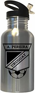 Alvaro Pereira (Uruguay) Soccer Stainless Steel Water Bottle Straw Top