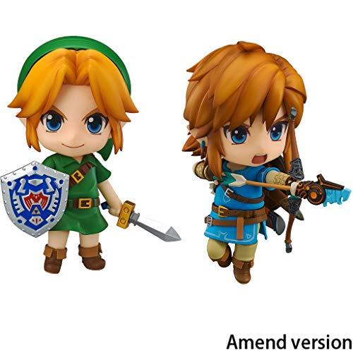 The Legend of Zelda: Breath of The Link Y Wild Majora'S Mask Link Nendoroid Figura De Acción