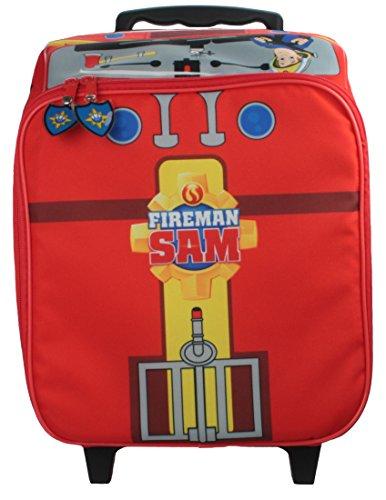 Feuerwehrmann Sam - Reisekoffer Trolley Kinder