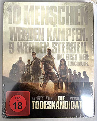Die Todeskandidaten, Steelbook, Blu-ray, Mediamarkt/Saturn exklusiv, Uncut, Region B