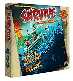 Stronghold Games 2002 - Survive: Escape from Atlantis (B0084M8UE4) | Amazon price tracker / tracking, Amazon price history charts, Amazon price watches, Amazon price drop alerts