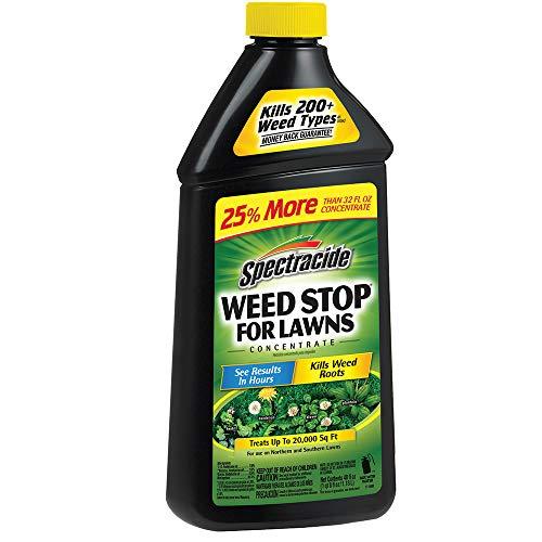 Spectracide 96631 Weed Killer, 40 oz, Pack of 1, Black Packaging
