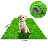 STARROAD-TIM Artificial Grass Rug Turf for Dogs Indoor Outdoor Fake Grass for Dogs Potty Training Area Patio Lawn Decoration