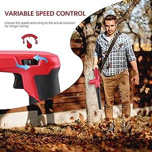 Meterk Akku LaubbläSer Mini Tragbare Ultraleichte 2 In 1 Kehrmaschine & Vakuum (Lithium Ionen, 20 V, 18000rpm, 240 Km/H Blas-Luftstrom, Inkl. 2,0 Ah Akku Und SchnellladegeräT Und Toolkit)