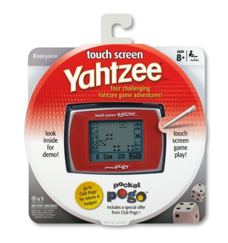 Parker Brothers POGO Yahtzee Touch Screen