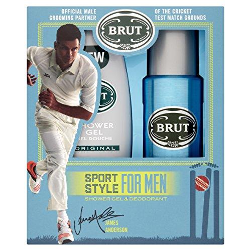 Brut Giftset Deo Spray 200ml+S/Gel Sport, 200 ml